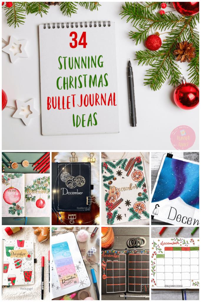 Christmas December Bullet Journal Ideas