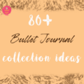 Are you looking for ways to make use of those empty pages in your Bullet journal ? In this post I am going to share over 80 amazing Bullet Journal Collections for you to try.