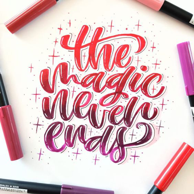 Are you someone who is always looking for Easy Hand lettering fonts for your bullet journal to add more funky elements to your spreads?