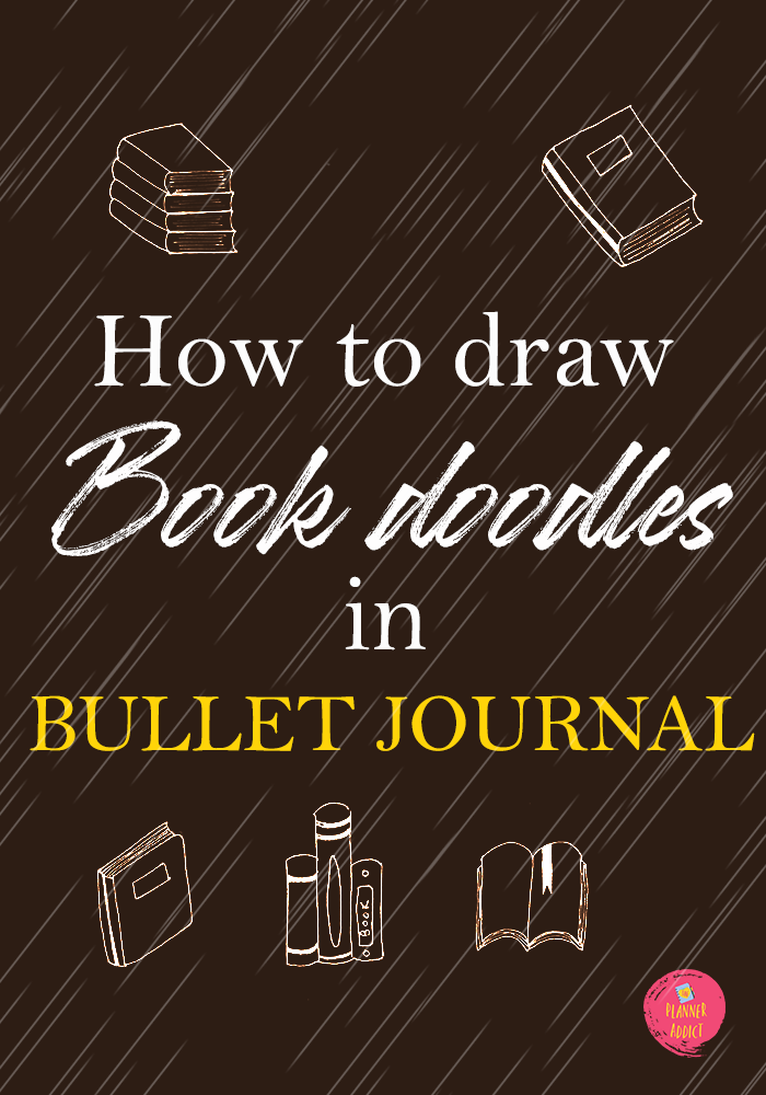 Are you struggling to draw doodles? Today I will share a Step by Step guide on how to draw Cute book doodles for your Bullet journal .